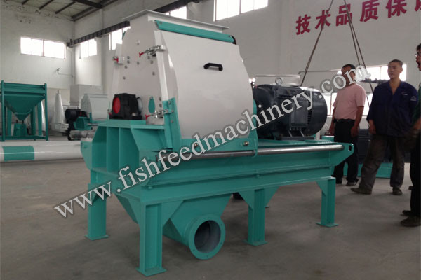 pet feed crusher