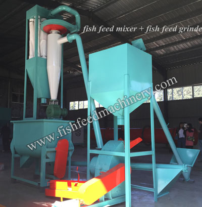 fish feed mixing machine