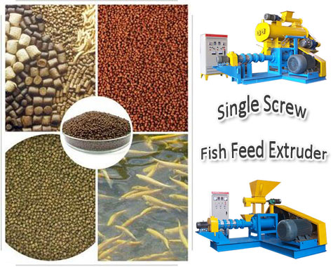 single-screw-fish-feed-extruder