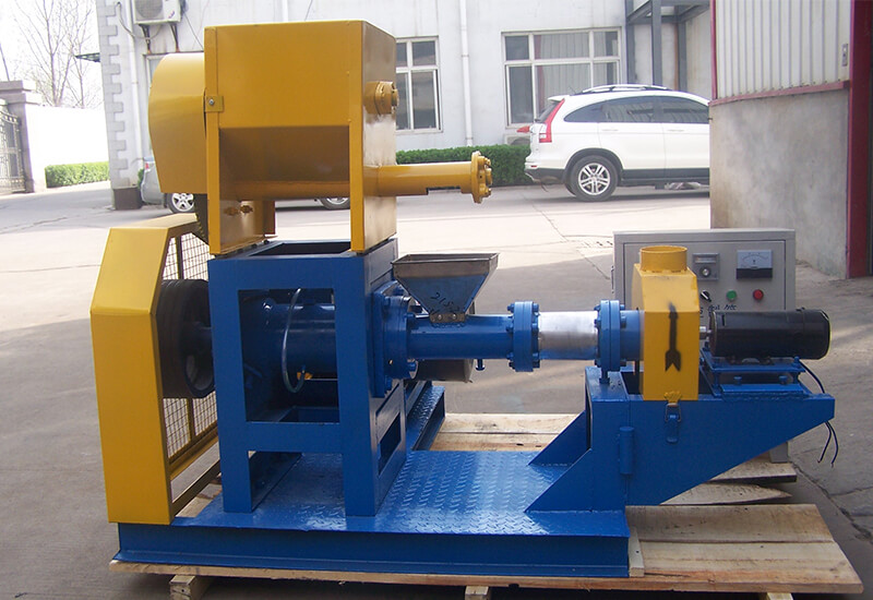 Single Screw Fish Feed Extruder