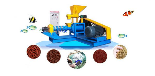 fish feed extrusion machine